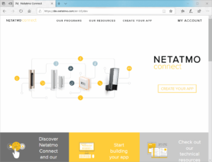 Website dev.netatmo.com